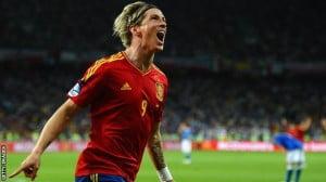 Fernando Torres na Espanha