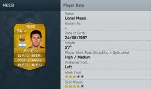 FIFA 14 - Messi